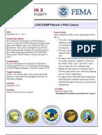 WSEMA PilotL550 TrainingAnnouncement RegionX Sept2012