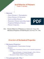 Mech Behavior of Polymers