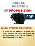 Logical Opposition