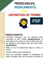 Predicaments & Definition