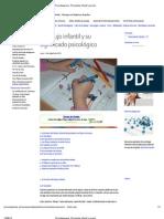 Psicodiagnosis_ Psicología infantil y juvenil
