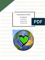 Calentamiento Global Investigacion