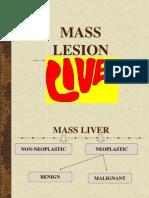 Mass Lesion Liver