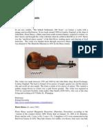 The Pierre Bruce Fiddle