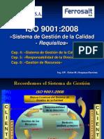 Charla 2 - IsO 9001 - Cap 4, 5 y 6 - Ferrosalt