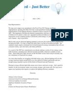Lighting Standards Letter 6 01 12 FINAL