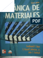 Mecanica de Materiales - 3ra Edicion - Beer, Johnston & DeWolf