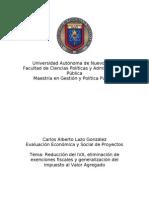 Reduccion y Generalizacion Del IVA