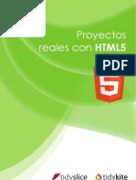 HTML5 en Proyectos Reales