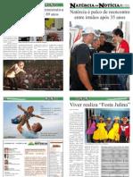14ª EDIÇÃO - JORNAL NATÉRCIA EM NOTÍCIA - JULHO DE 2012