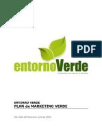 Estrategia de Mercadeo Entorno Verde