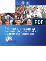 Primera encuesta nacional de juventud en Guatemala - Presentación