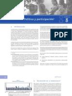 Primera encuesta nacional de juventud en Guatemala - Capítulo 8