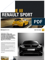 Catálogo y Ficha Técnica Renault Mégane III RS