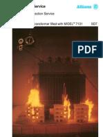 6) Allianz Fire Test - Demonstrating Fire Safety Transformers