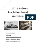 Internship at Southeastern Architectural Archive
