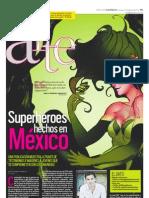 Superhéroes hechos en México