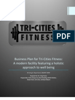 TriCities Fitness Business Plan FINAL