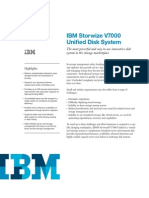 IBM Storwize V7000 - Data Sheet