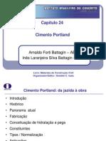 Aula 01 - Cimentos (IBRACON Cap. 24)