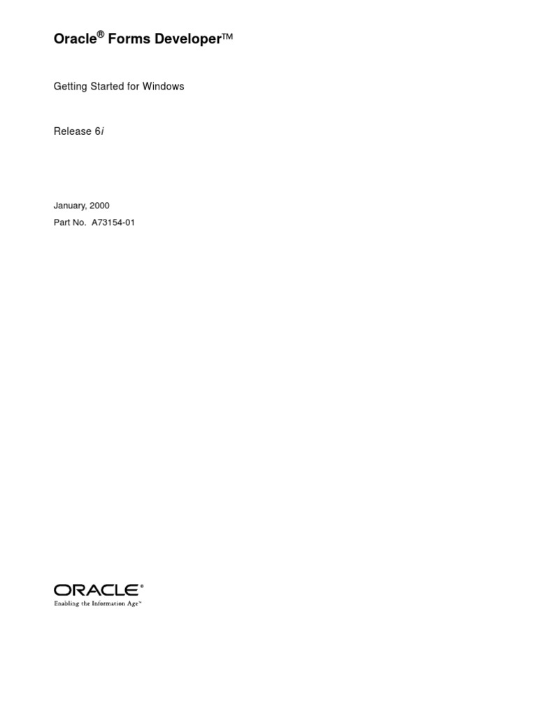 Oracle forms data blocks on different sources - Oracle Forms Developer Release 6i