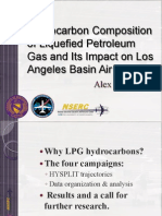 Hydrocarbon Composition of Liquefied Petroleum Gas and Its Impact on Los Angeles Basin Air Quality