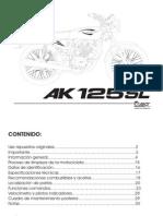 Manual AKT 125 Sl
