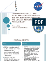 Comparison of CFC-11 and HCFC-141B Emissions Between the San Bernardino, Riverside and Ontario Airports in the Los Angeles Basin