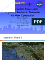 Using Chemical Tracers and Trajectory Analysis to Determine Air Mass Composition