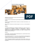 Texto de La Reforma CPEUM