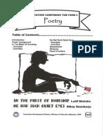Poetry Form 4 - Hardship & Quiet Eyes