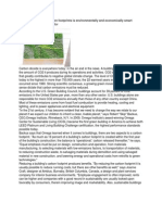 Basics of Carbon Foot Print