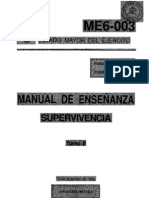 Fuerzas Armadas - Me6 003 Manual De Enseñanza Supervivencia Tomo 2-2 (190pag)DIGITAL