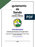 Regulamento de Sanda 2012