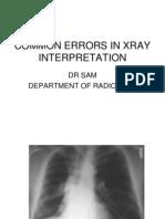 Common Errors in Xray Interpretation 2