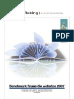 JungleRating -  Benchmark financiele websites 2007