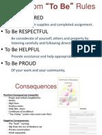 Procedures Rules