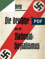 Diehl, Guida - Die Deutsche Frau Und Der Nationalsozialismus (1933, 125 S., Scan, Fraktur)