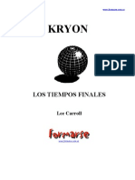 Kryon - 1 - Los Tiempos Finales