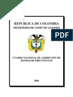 Espectro Electromagnetico Colombia
