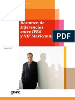Resumen de Diferencias IFRS vs NIF