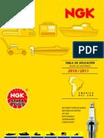 NGK Catalogo de Bujias Nauticas y Otros Usos