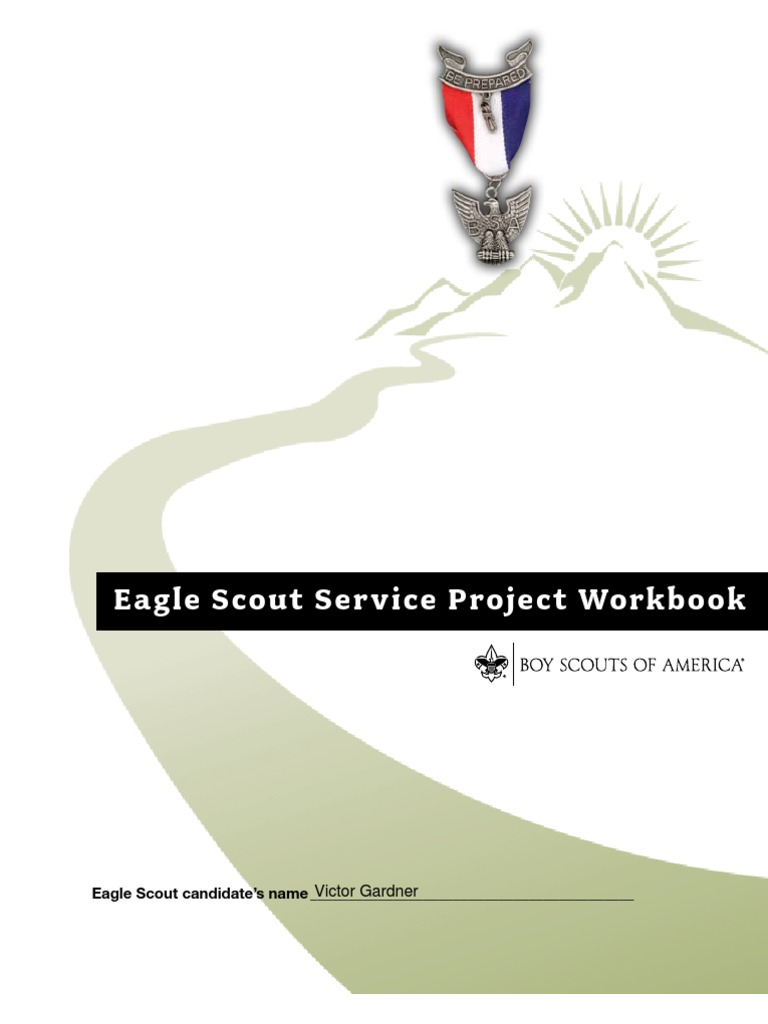 Workbooks eagle scout service project workbook : Eagle Scout Pre-Proposal | Boy Scouts Of America | Fundraising