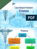 CRS Tetanus