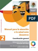 Coord Gral_manual Para La Atencion a La Salud Ante Desastres