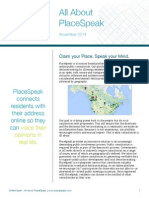 White Paper—All About PlaceSpeak