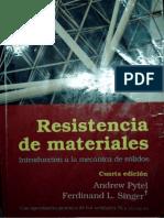 Resistencia de Materiales, Singer 4ed