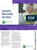 PiF Guide to Health Records Access