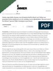 20120531 De Groene Amsterdammer Dutch Policy on the Arts