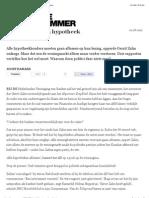 20120801 De Groene Amsterdammer Crime, Punishment & Mortgage